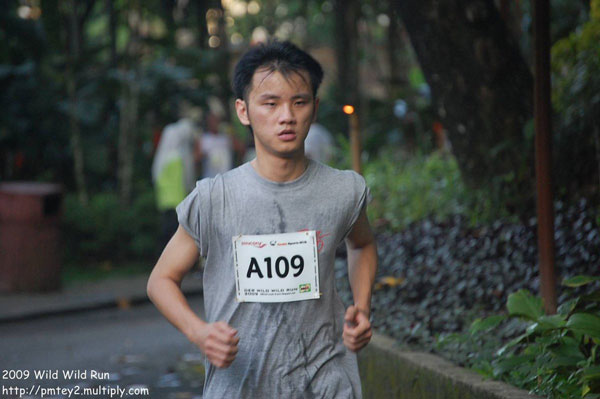 Tired Face of Daniel Chew in Wild Wild Run 2009