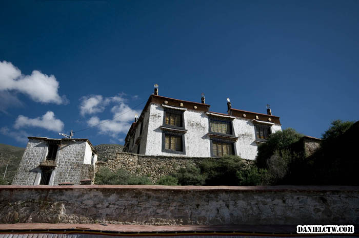 Drepung Monastery Building