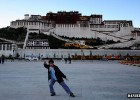 Potala Palace Kungfu Pose