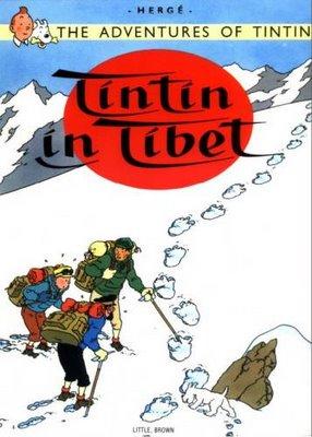 Tintin in Tibet Cover