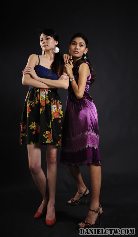 Angelyn and Nicole Model Front