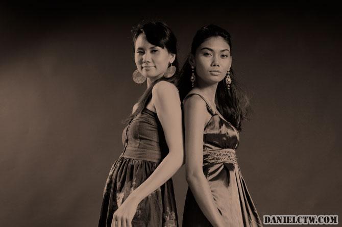 Angelyn and Nicole 60s Shot