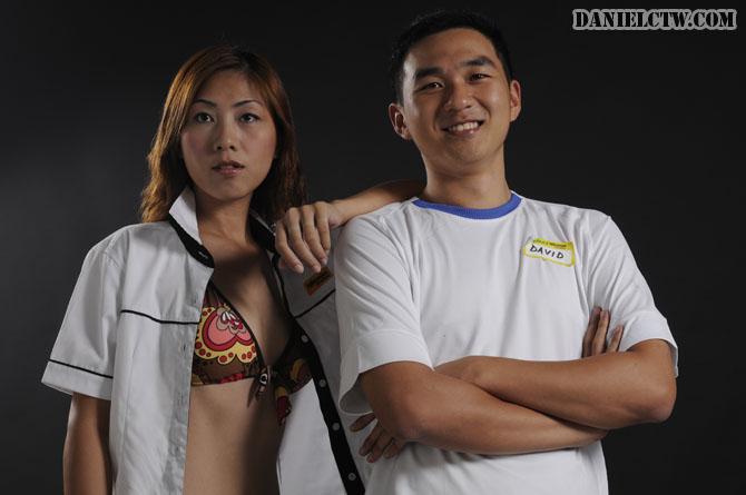 David Chong with Nikonian Model