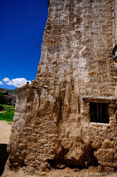 Old Building Tibet Monastery