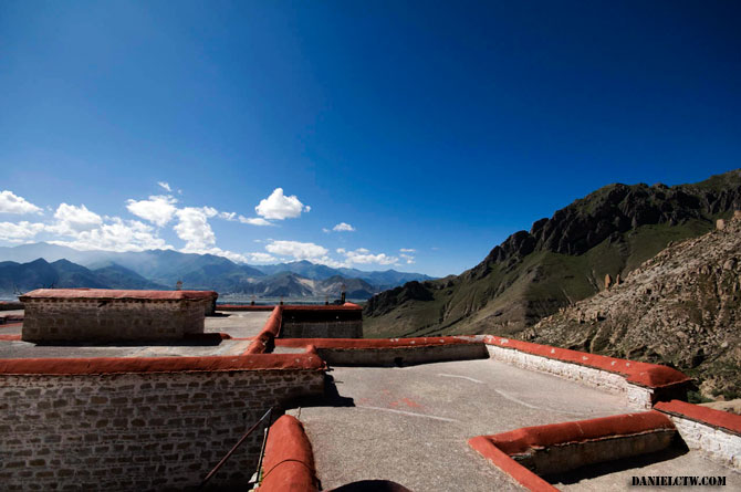 Top View of Drepung Monastery