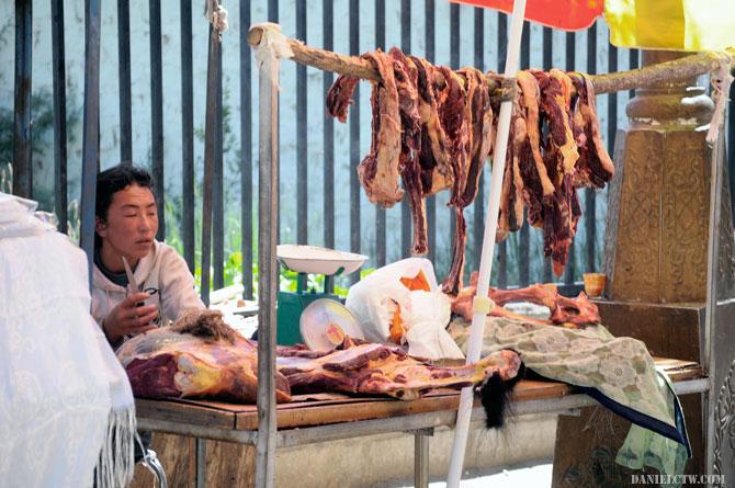 Yak Meat Seller