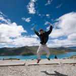 The Weird Blue Lake at Tibet