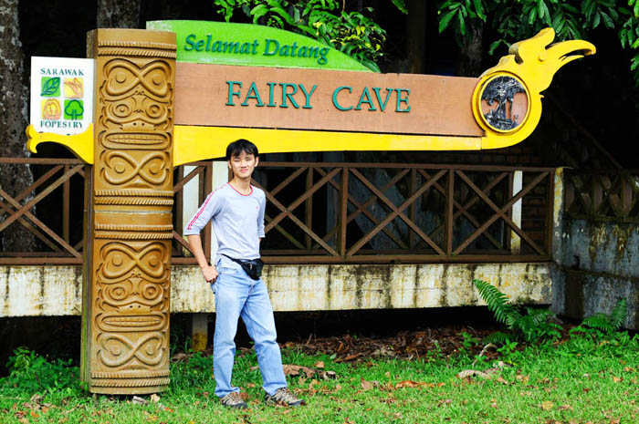 Daniel Chew at Fairy Cave