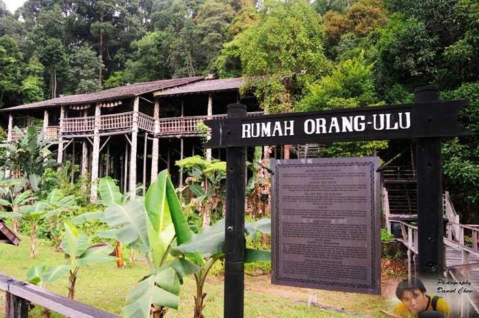 Rumah Orang Ulu Sarawak