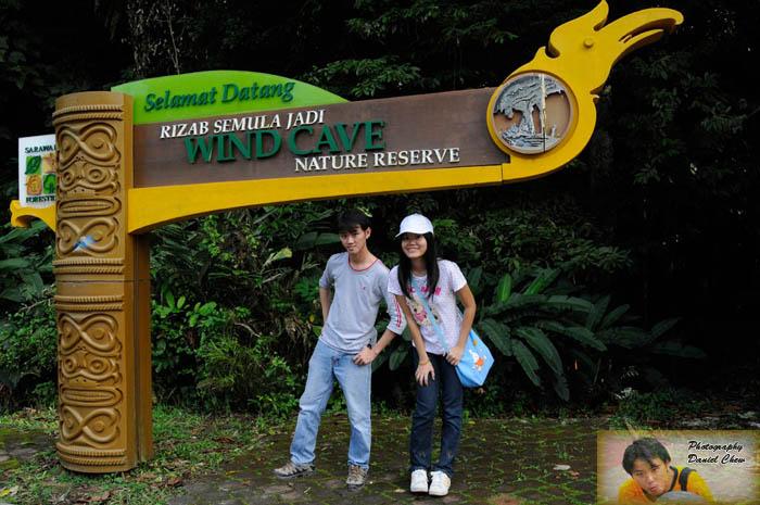 Wind Cave Entrance with Princess Yen