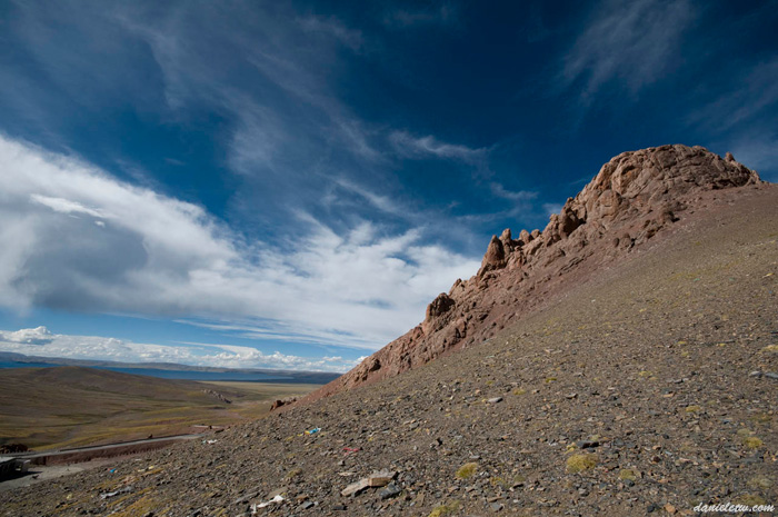 Namtso Hill Overlooking the Lake