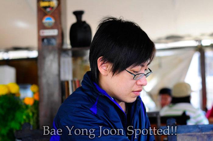 Ek Wei Bae Yong Joon lookalike
