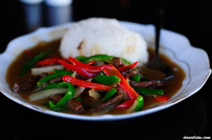 Tibet Beef Rice