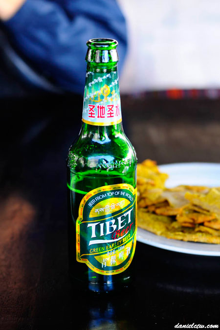 Tibet Beer Green Barley