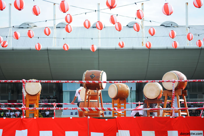 Drum on Stage Bon Odori