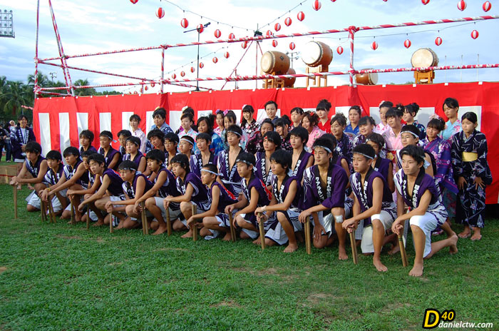 Bon Odori Performers Group Photo