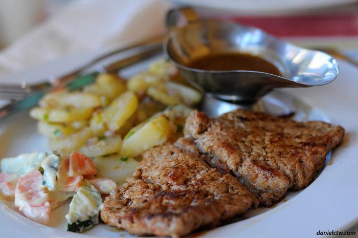 Pork Steak Lhasa Restaurant