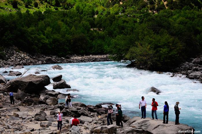 Tibet Rushing River