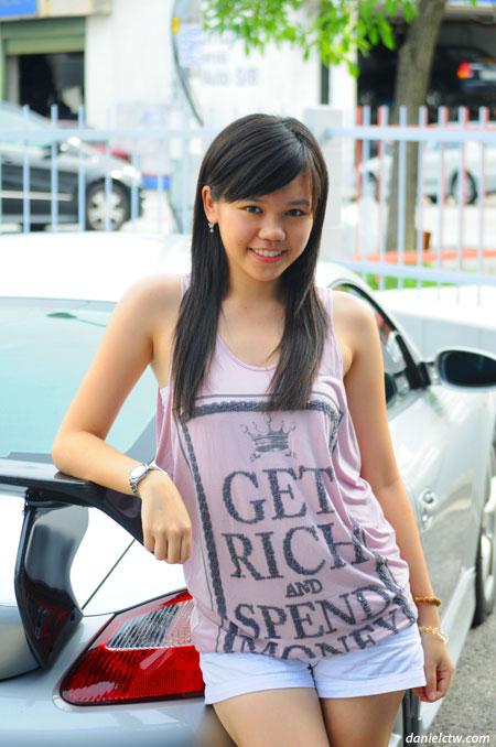 XiaoPei as Car Model