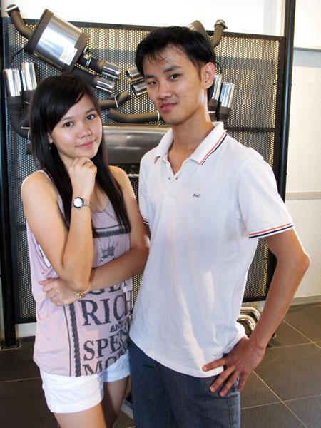 Xiao Pei and DanielCtw