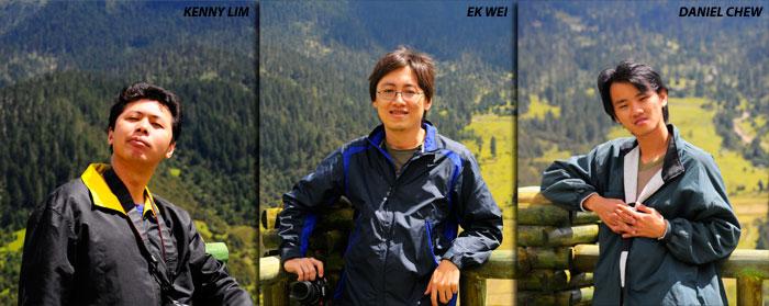 3 Travelers in Tibet Kenny Ek Wei Danielctw
