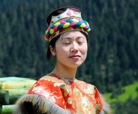 Lovely Model Shoot Tibet