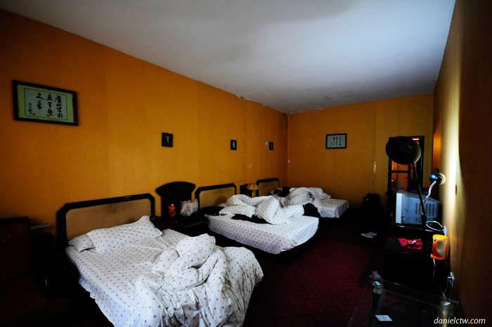 Our Tidy 3 men Room in Tibet