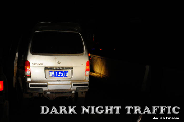 Dark Night Traffic
