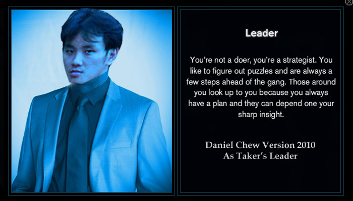 DanielCtw as Leader Taker