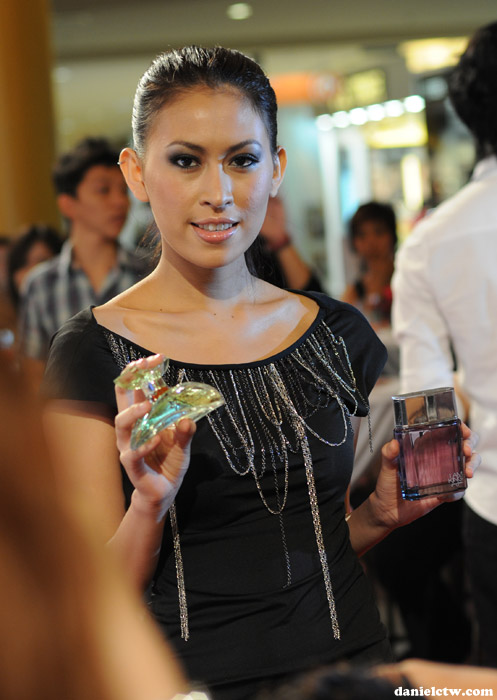 Model carrying Fragrance at Sasa Award Event 2010