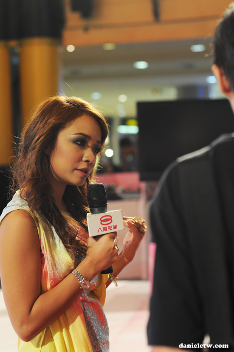 Nora Danish Sasa Interview with 8TV