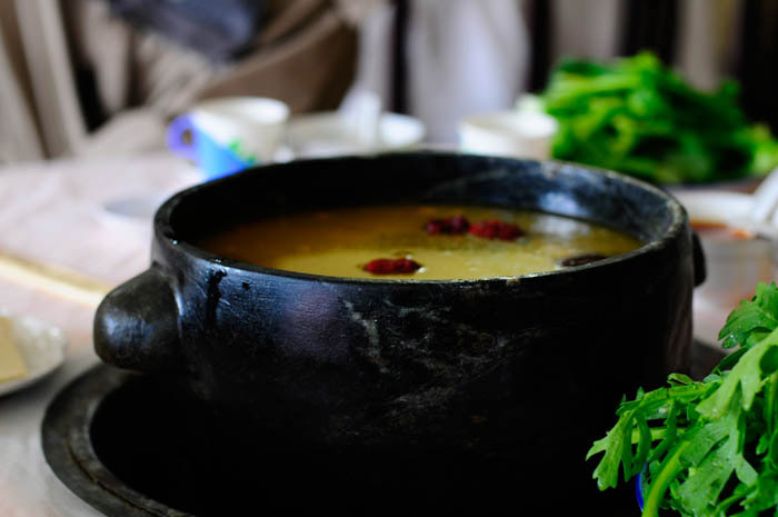 Strange Herbal Soup in Tibet