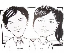 Daniel Yen Caricature