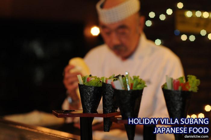 Holiday Villa Japanese Food