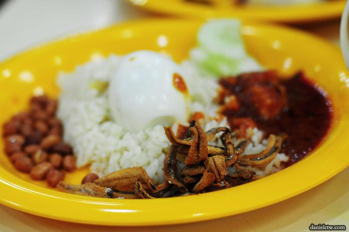 Nasi Lemak Original Kayu