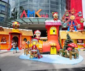 Ag Mo Kio Hub Christmas Decoration