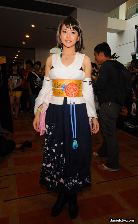 Comic Fiesta Yuna Cosplay
