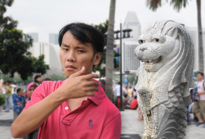 Weird One Merlion