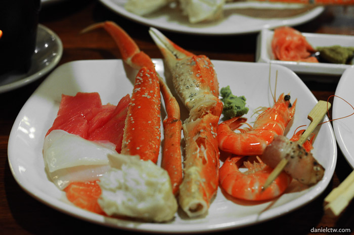 Snow Crab & Prawn at Momiji