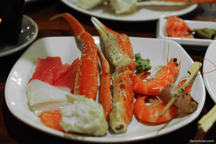Snow Crab & Prawn at Momiji
