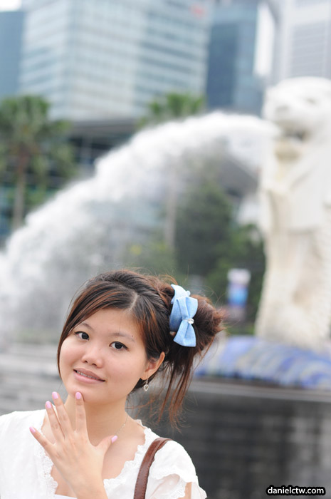 Yen n Merlion Background