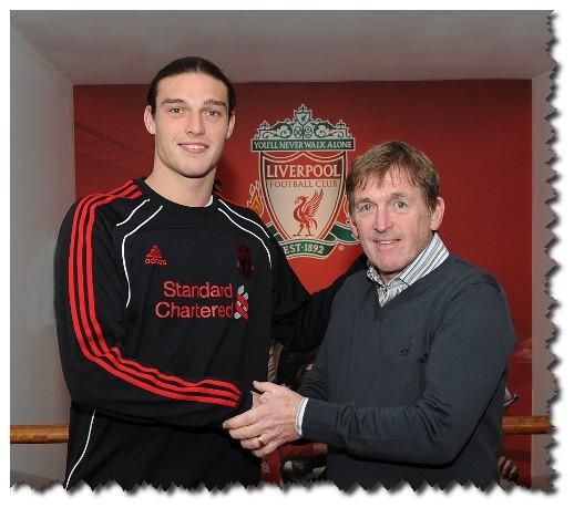 Carroll Big Liverpool Player