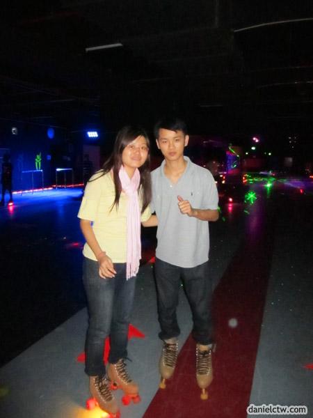 DanielCtw and Yen Skating