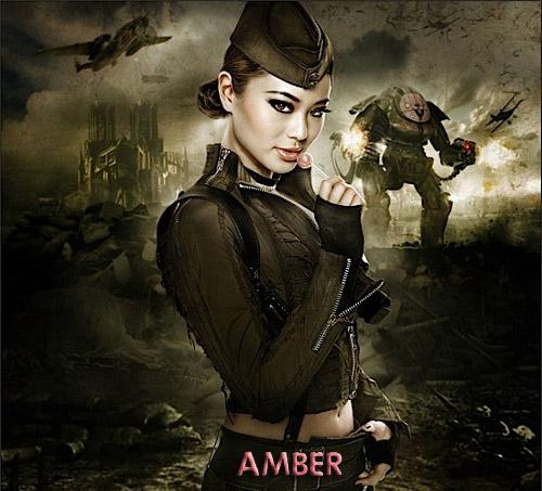 Amber - Jamie Chung