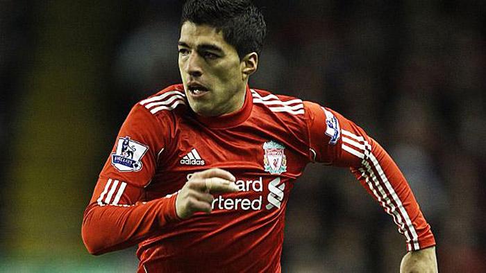 Luis Suarez Liverpool Action