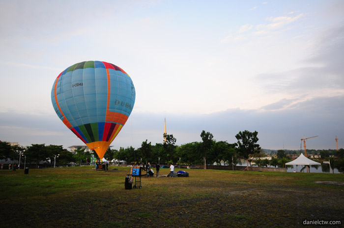 First Balloon To Be Seen