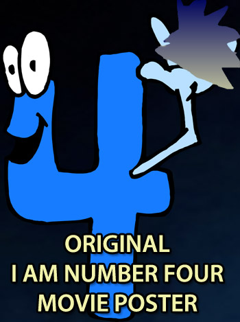 Original I am Number Four Poster