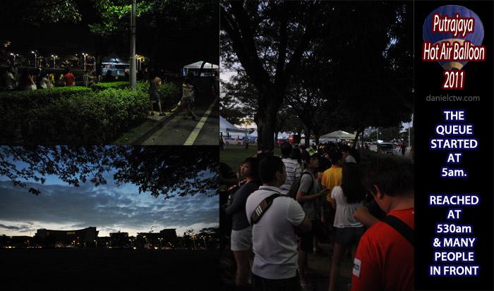 Early Morning Putrajaya International Hot Air Balloon 2011
