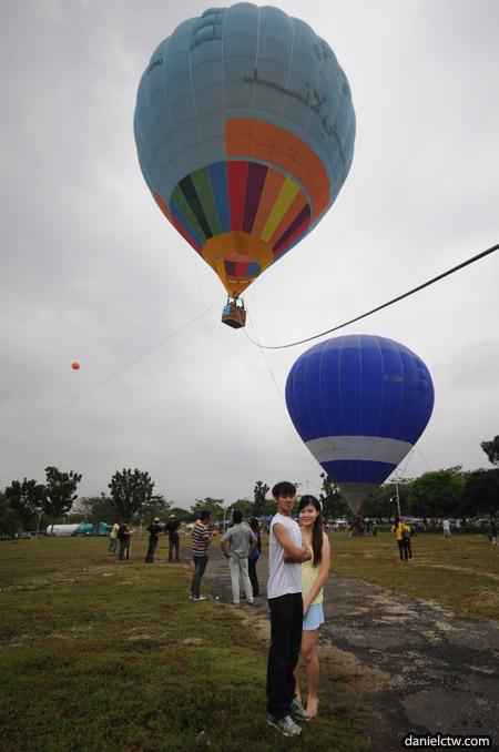 Yen Daniel Balloon Background Shot