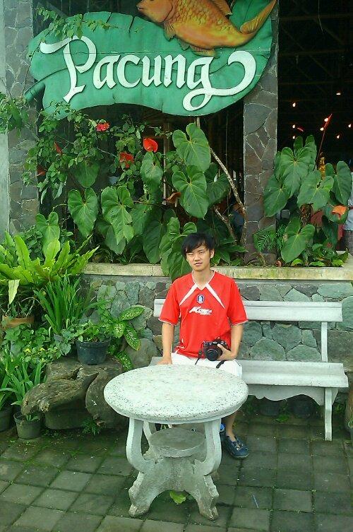 Daniel at Pacung Restaurant Bali